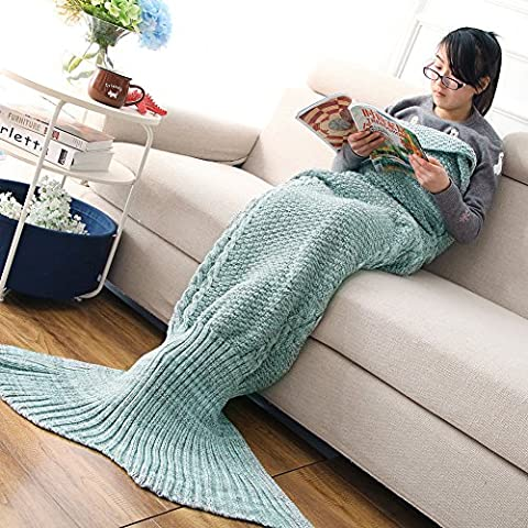Costumes Mignons Halloween Toddler - Mermaid Tail Couverture Fait main Doux Sac