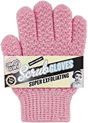 Soap And Glory Super Exfoliating Scrub Gloves Smooth Your Body One Size