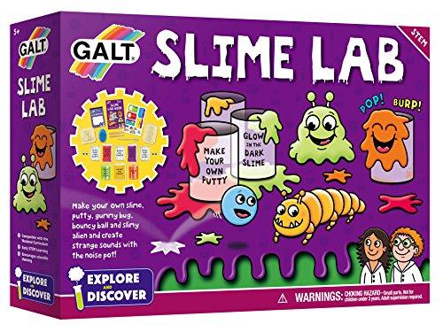 Galt Toys Slime Lab Spielset, Schleimlabor (Glow In The Dark Pulver Set)