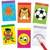 Baker Ross Pack économique de carnets de note assortis (Paquet de 20)- Mini jouets pour enfants AT906