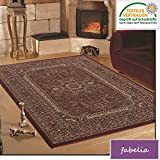 Fabelia Orient Teppich Kollektion Marrakesh - Orientalisch-europäische Designs/klassisch und modern (240 x 340 cm, Granada/Rot 0207)