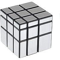 Cooja Mirror Cube Miroir Cube Puzzle, Super Cube Speedcubing Magique Lisse Puzzle 3D Magique Cube Professionnel