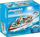 Playmobil- Lancha Motor Submarino Juguete, (geobra Brandstätter 9428)
