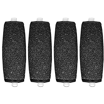 4 x Compatible Scholl Velvet Smooth Express Diamond Pedi Replacement Roller