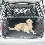 asiento trasero perros valla de mascota valla de seguridad protecci/ón de red de aislamiento de seguridad asiento de coche para viajes TVMALL Barrera de seguridad para mascotas mascotas