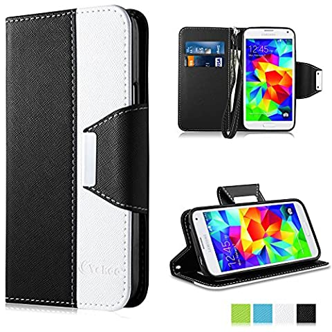 Coque Samsung Galaxy S5 Mini, Vakoo Galaxy S5 Mini Coque Case Housse Etui TPU Bumper Cover pour Samsung Galaxy S5 Mini (Noir