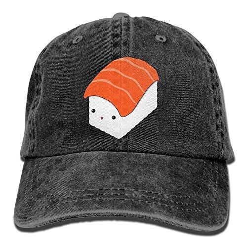 Qinckon Classic Baseball Caps Cotton Denim American Chicago Flag Plain Adjustable Adults Hat New -