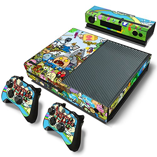 GameCheers Xbox One Konsole and 2 Controllers Skin Set - TV Show Adventure Comic - Xbox One Vinyl
