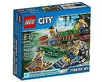 LEGO City Police 60066 - Starter Set Polizia, Missione nelle Palude - LEGO - Casa e cucina