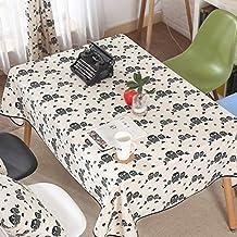 De calidad excelente tela de algodón y lienzo de lino retro pastoral mesa de tela cubierta de mesa de centro de la familia búho patrón-A 110x160cm(43x63inch)