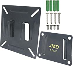 "Heavy Duty Wall Mount For Monitor & TV - 14"" To 21"" LED, LCD"