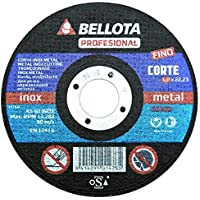 Bellota Profesional - Disco abrasivo, corte inox-metal fino (115 mm)