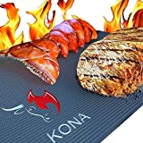 Best Grill Mats - Kona Best BBQ Grill Mat-Set di 2tovagliette per Review