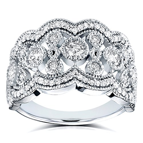 Anelli Intelligent Da Donna 14k Bianco Oro 3 Pietra Originale Diamante Fidanzamento To Rank First Among Similar Products