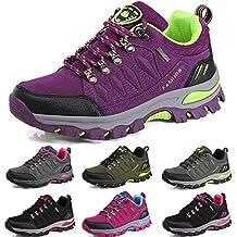 a0fdec266 BOLOG Zapatos de Senderismo para Hombre Zapatos de High Cut Trekking Ocio  al Aire Libre y