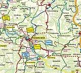 Fränkische Schweiz: Radwanderkarte mit Ausflugszielen, Einkehr- & Freizeittipps sowie Mountainbike- und Rennradrouten, E-Bike-Verleih- und ... GPS-genau - 1:100000 (Radkarte / RK) -