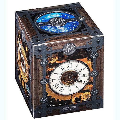 Peters - Adventskalender Advents-Zeitmaschine Pralinen Trüffel Confiserie - 300g   Zeitmaschinen-Adventskalender