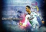 Poster CR7 Cristiano Ronaldo Real Madrid Fußball 06