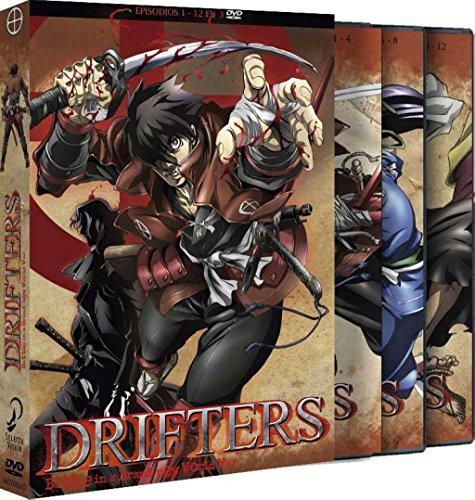 Drifters Episodios 1 A 12 [DVD]