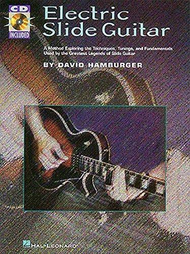 Electric slide guitar guitare+CD