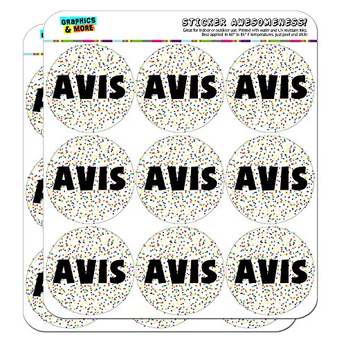 avis-name-scrapbooking-crafting-stickers-multicolored-speckles-18-2-stickers