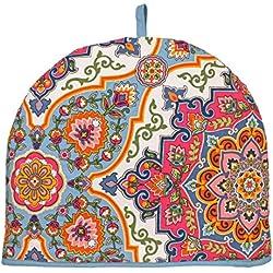 """Ulster Weavers 13,8""""x 10.6"""" marroquí Tetera, diseño de Azulejos"""