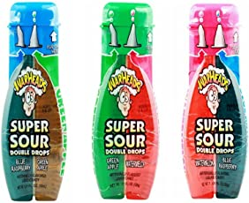 Warheads Super Sour Double Drop Candy Combo (Pack Of 3)