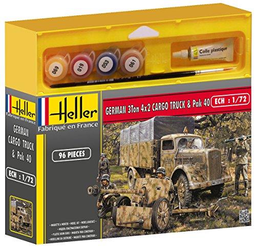 Heller Classic 49994 - OPEL BLITZ & PAK 40, 65 Teile