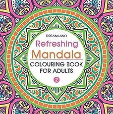 Refreshing Mandala - Colouring Book for Adults Book 2