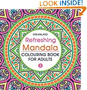 #8: Refreshing Mandala - Colouring Book for Adults Book 2