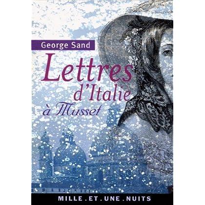Lettres d'Italie à Musset (La Petite Collection t. 439)