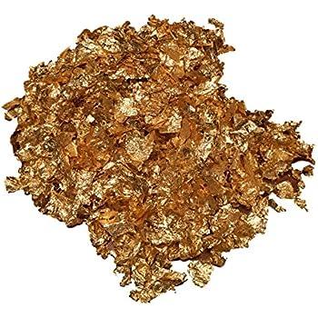 Goldflocken Goldflakes Blattgold 11 Oder 22 Liter Gold Deko Dekoration Vasenfüller Dekorieren Goldene Hochzeit Wohnung Schmücken Schüssel