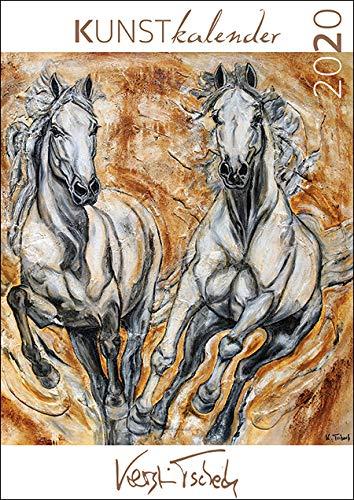 Pferdekalender 2020 Pferde Kunstkalender von Kerstin Tschech