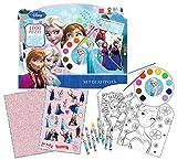 Disney Frozen - Set Valigetta Colori, 1000 Pezzi