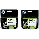 HP 305XL Noir et HP 305XL Couleur Cartouches d'encre d'origine