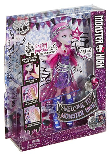 Image of Monster High DNX66 Welcome to Monster High Ari Hauntington Doll Toy