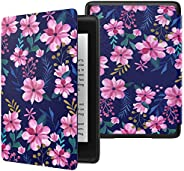 MoKo Case Fits Kindle Paperwhite (10th Generation, 2018 Release), Thinnest Lightest Smart Shell Cover with Aut