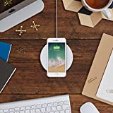 Belkin BOOST UP 7.5 W Wireless Charging Pad for iPhone X, iPhone 8 Plus, iPhone 8 and other Qi-Enabled Devices (Designed with Apple, Qi-Certified) - White Bild 2