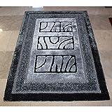 DHG Mats-Elastic Seidenteppich Nonlip Wasser Dreidimensionale Wohnzimmer Schlafzimmer 3D,C,120X170Cm (47X67Inch)