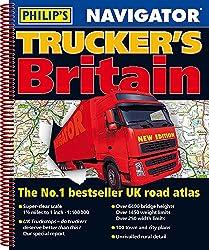 Philip's 2019 Navigator Trucker's Britain: Spiral (Philips Road Atlas)
