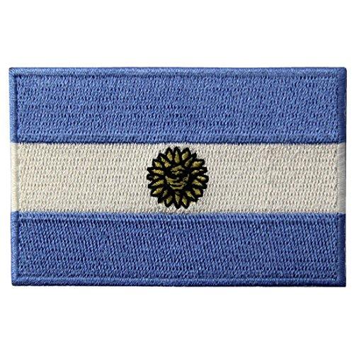 Ihre Armee Eigenen Sie Machen Kostüm - Argentinien Nationalflagge Bestickt Argentinisches Staats Emblem Eisen Auf Nähen Auf Patch
