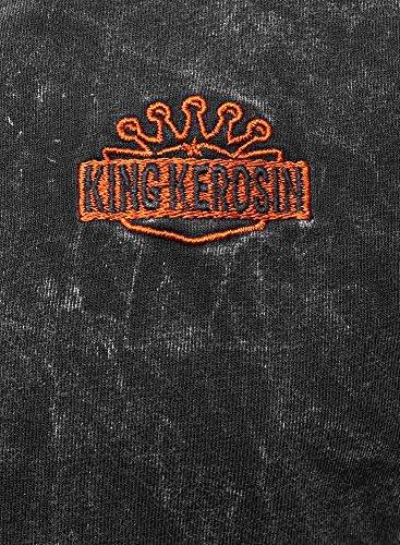 King Kerosin Herren T-Shirt Schwarz