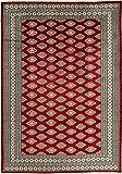 CarpetVista Pakistan Buchara 2ply Teppich 200x290 Orientteppich