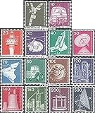 BRD (BR.Deutschland) 846-859 (kompl.Ausgabe) 1975 Industrie und Technik (Briefmarken für Sammler)