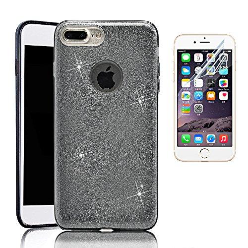 iPhone 7Plus custodia con pellicola Protertor, Sunroyal scintillante Premium 3in 1strati di protezione ibrido brillante (Formula 1 Womens Watch)