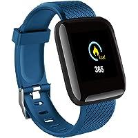 YHLVE 116 Plus Smart Bracelet Watch Frequenza cardiaca Pressione sanguigna Fitness Tracker Guarda Activity Tracker…