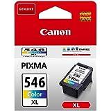 Original Canon 8288B001 / CL-546XL, für Pixma MG 2555 Premium Drucker-Patrone, Cyan, Magenta, Gelb, 300 Seiten, 13 ml