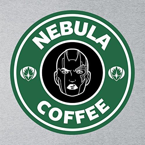 Guardians Of The Galaxy Nebula Coffee Starbucks Men's Vest Heather Grey