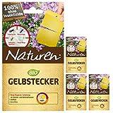4 x 15er-Pack Naturen Bio Gelbstecker insektizidfrei