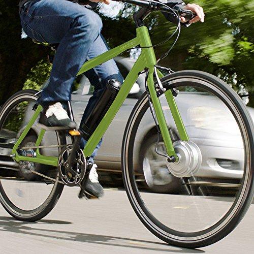 "61L%2B%2BQ4OWGL. SS500  - AEROBIKE Electric Bike Mens Hybrid eBike Bicycle 28"" Wheels Pedal Assisted Mountain Bike 36v Li-ion Battery SRAM Automatix Gear System"